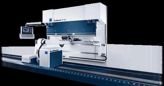 Stroj za krivljenje pločevine TRUMPF nam omogoča krivljenje pločevine, debeline do 3 mm.